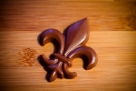 Fleur de Lis chocolate