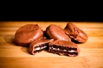 Chocolate Dipped Oreos. Available in milk, dark, and dark with mint.